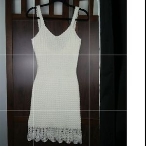 Crochet Dress Crocheted Beach Party or Wedding